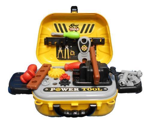 Set de herramientas portatil maleta niño juguete