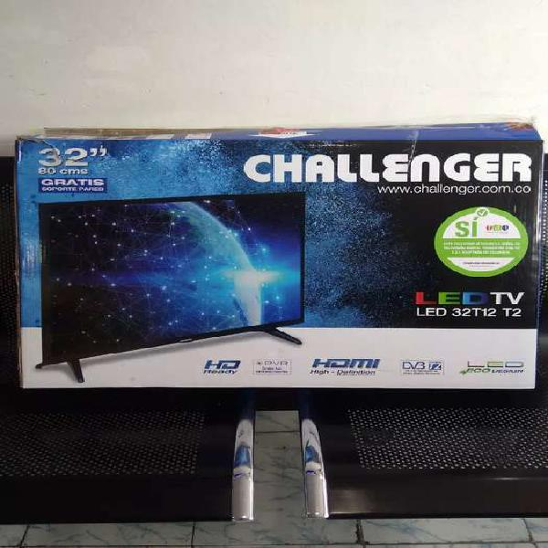Tv challenger 32 led con tv box