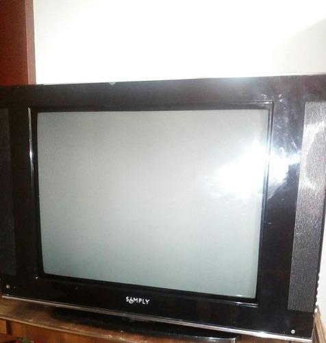 Televisor simply 21 pulgadas slim