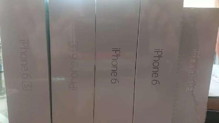 Teléfonos iphone nuevos 5s-6-6s