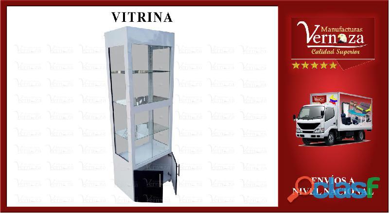 Vitrina exhibidora para mayor elegancia y comoda bodega inferior
