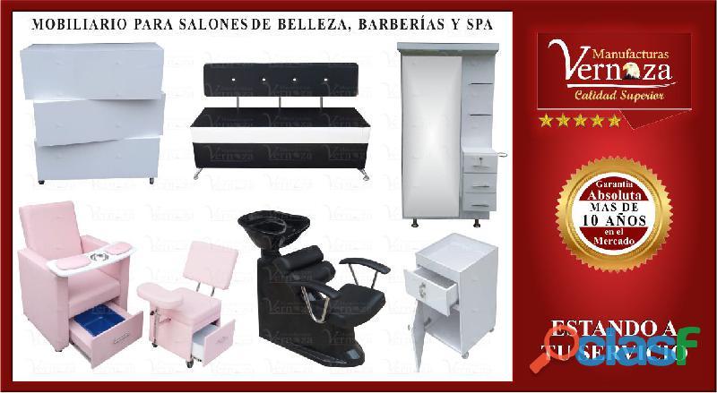 1 somos fabricantes de muebles para peluqueria, barberia y spa