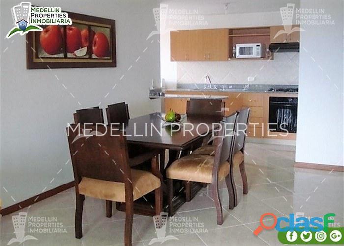 Alquiler de apartamentos amoblados en medellín cód: 4250