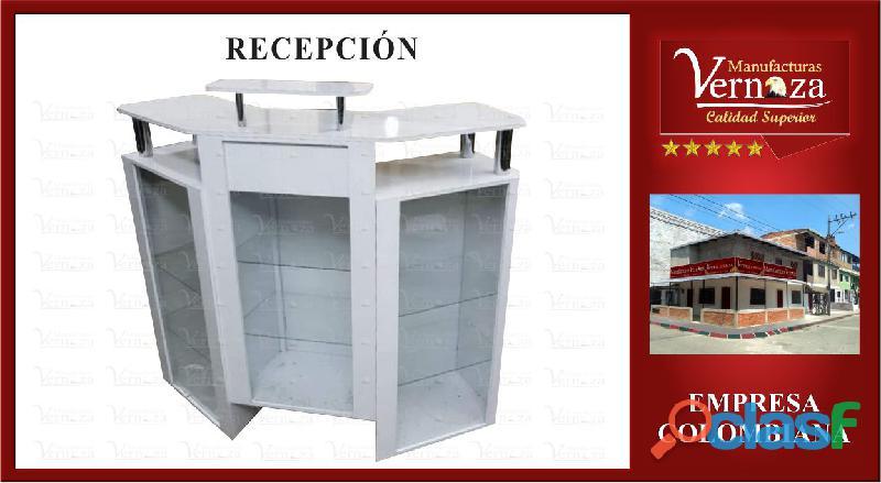 RECEPCION TRES CUERPOS ALTAMENTE FUNCIONAL