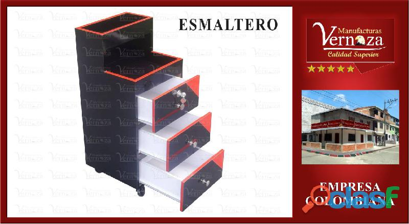 DISPONIBLE EXCLUSIVO ESMALTERO NUEVO COLOR NEGRO