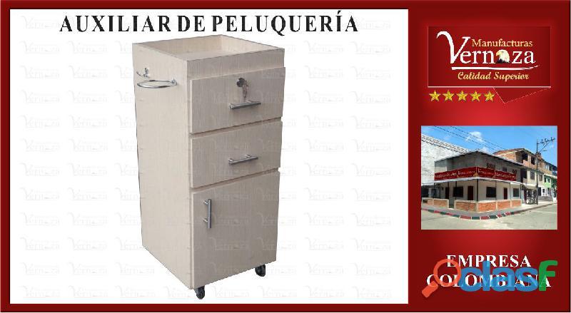 11 AUXILIAR PARA PELUQUERIA GALACTICO CON RIELES DE EXPANSION