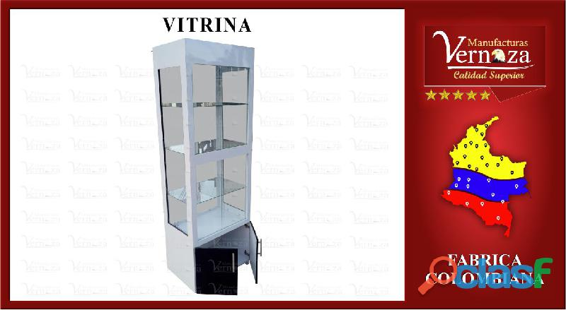 16 linda vitrina con estilo torre para salon de belleza o el uso que desees darle