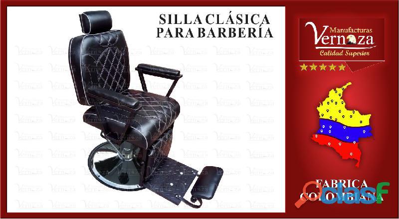 4 silla para barberia o el uso que desees darle