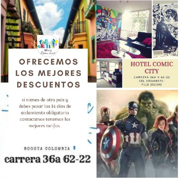 Comic city hotel