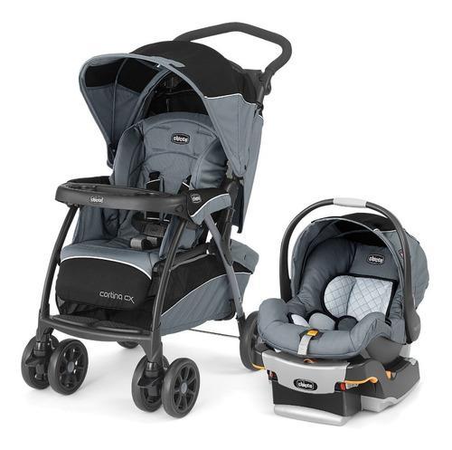 Chicco cortina cx travel iron silla porta bebe + coche