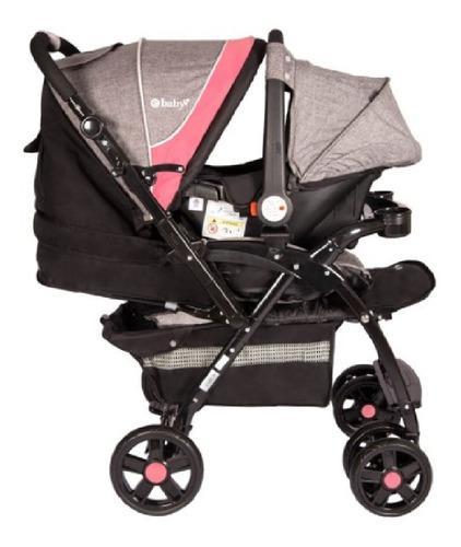 Coche con silla portabebe ebaby