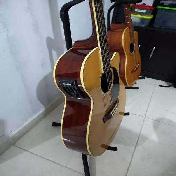 Guitarra electroacústica epiphone como nueva vendo cambio