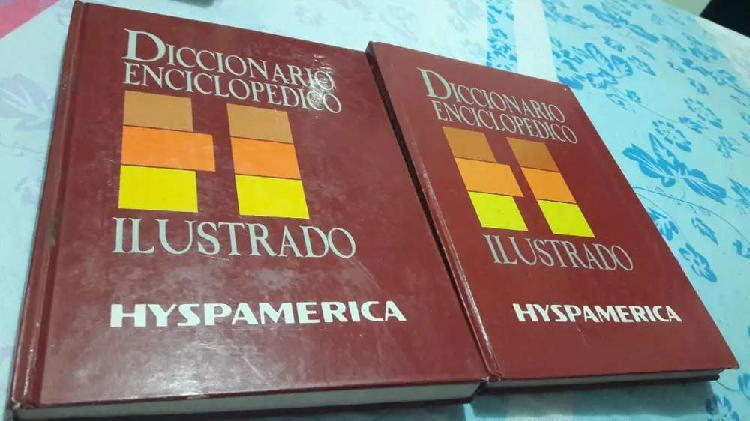 Vendo 2 diccionarios enciclopedicos ilustrados de segunda
