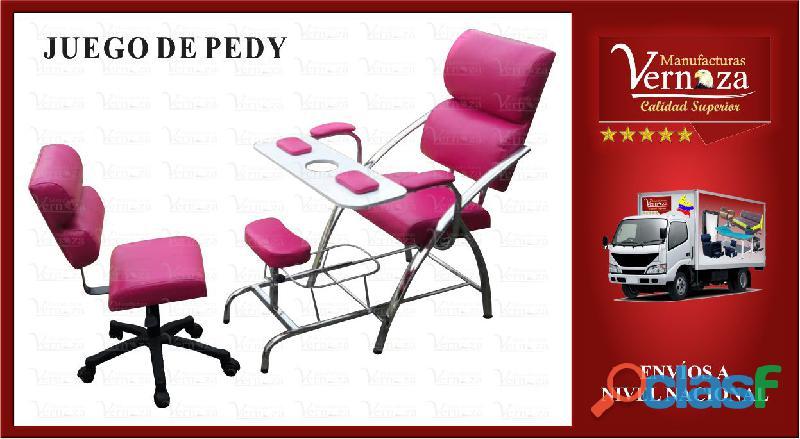 5 silla de manicura y pedicura, manizales y mas