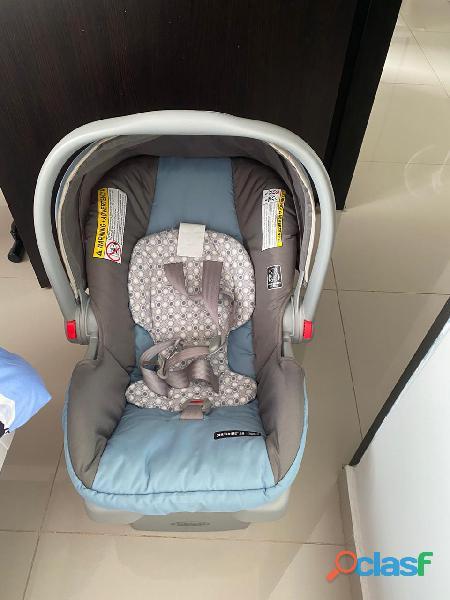 Silla de carro para proteger la vida de tu bebé cuando sales con el