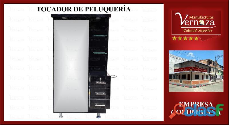 19 TOCADOR DE PELUQUERIA, MV EN MEDELLIN