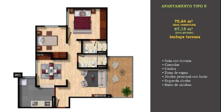 Apartamento en Venta Alhambra Condominio Campestre