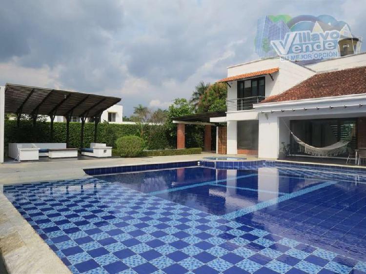 Casa campestre en condominio en villavicencio _ wasi1075491