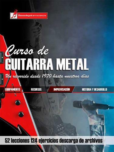 Curso de guitarra metal libro