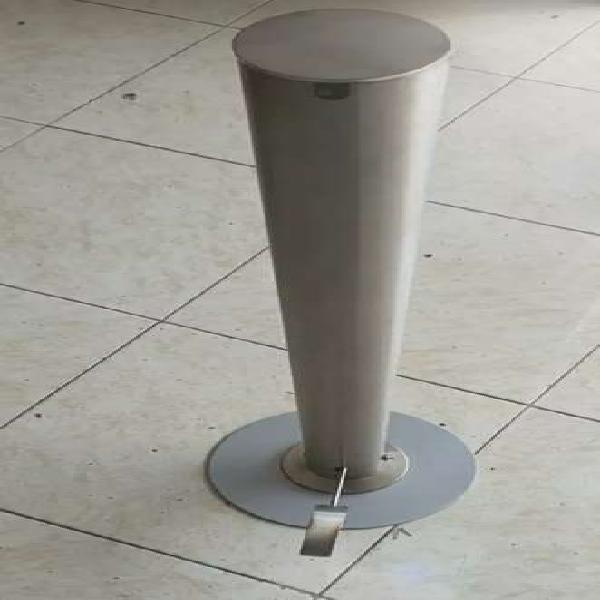 Dispensador para gel en acero inoxcidable