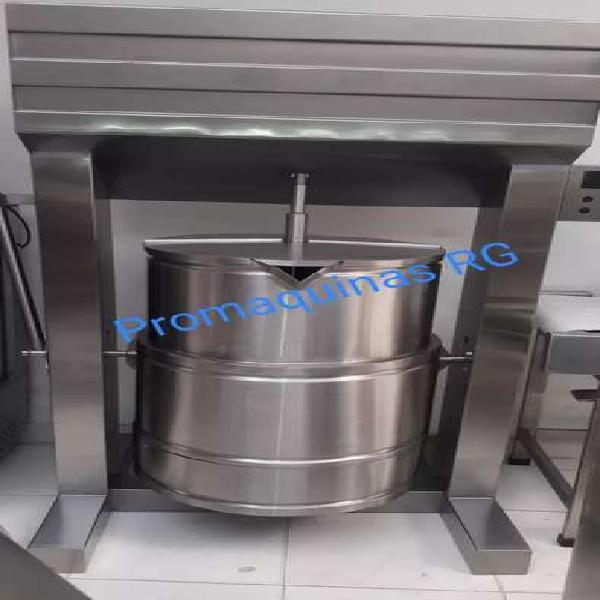 Marmitas en acero inoxidable