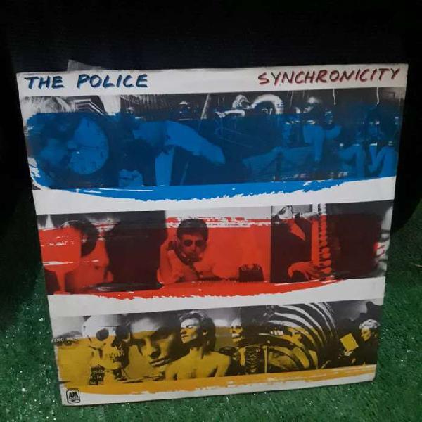 The police syncronicity vinilo lp disco rock