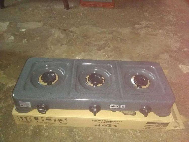 Vendo estufa de 3 boquillas