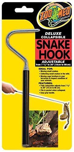Zoo med deluxe plegable serpiente gancho