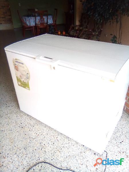 Congelador horizontal de 380 lts, marca challenger.