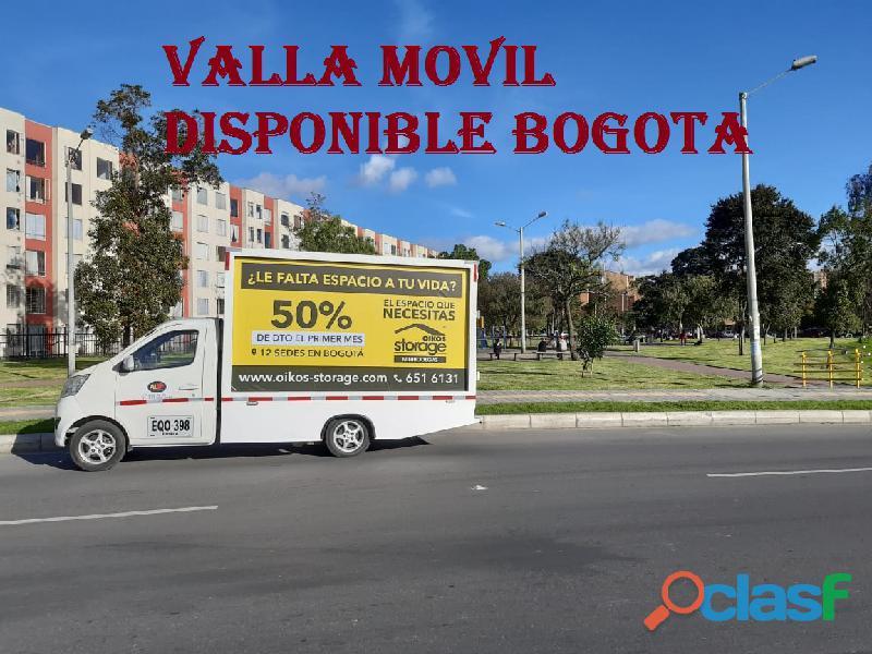 SERVICIO DE CARRO VALLA EN BOGOTA 3115601017