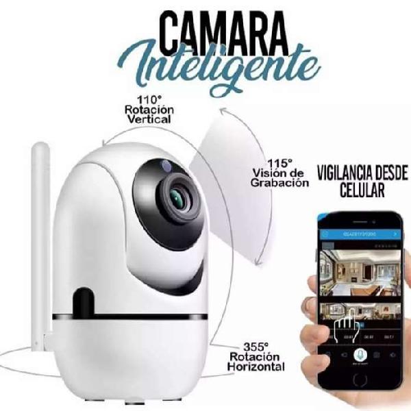 Camaras ip wifi robótica hd inteligente con visión