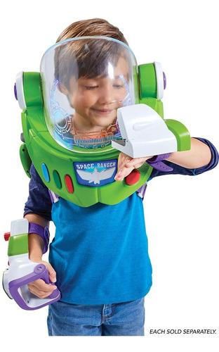 Casco guantes toy story 4 buzz lightyear 3-in-1 armor pack