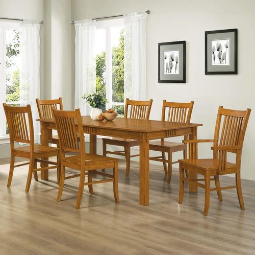 Juegos de mesa y silla muebles para el hogar coaster juego d