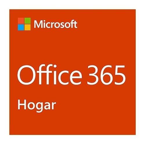 Office 365 hogar (6 usuarios) 12 meses activacion microsoft