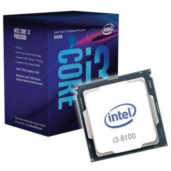 Procesador intel core i3 - 8100