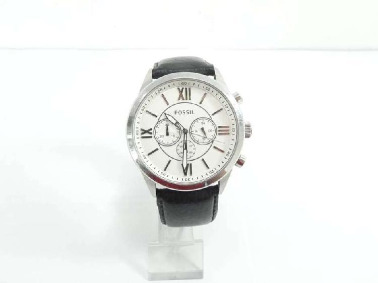 Reloj fossil original cronografos modelo bq1521 fondo blanco