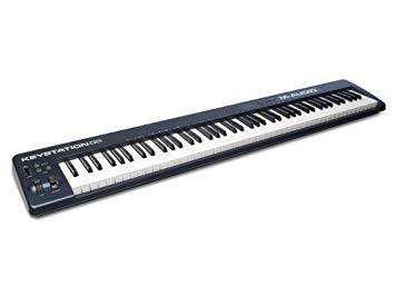 Teclado controlador m-audio keystation 88