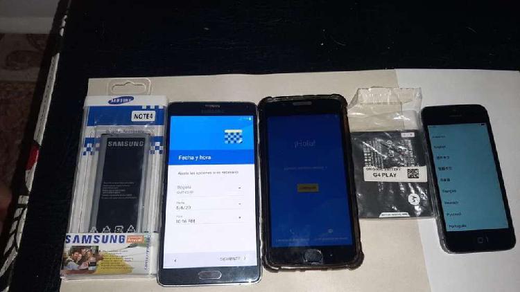 Vendo o cambio 3 celulares