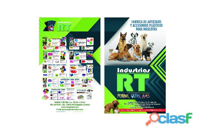 Perros, gatos, mascotas  fabrica de accesorios y artículos plásticos para mascotas, calidad y precio