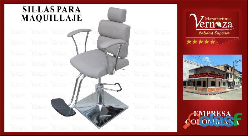 17 silla comoda para maquillaje y elegancia a la vanguardia.