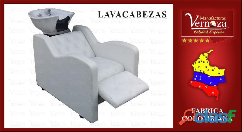 2. lava cabezas con poceta escualizable muy elegante y comodo