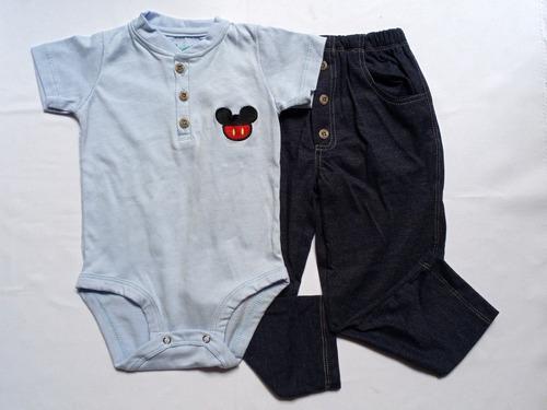 Conjunto mameluco y pantalón niño - latina's baby