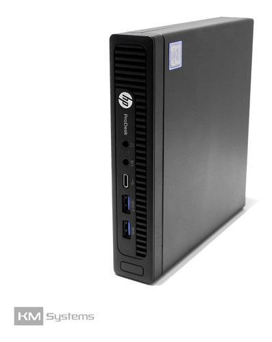 Cpu hp prodesk 600 g2 mini core i7 6ta gen 8gb 500gb usado