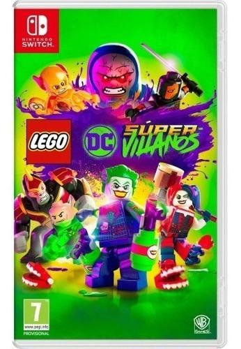 Lego dc super villanos nintendo switch