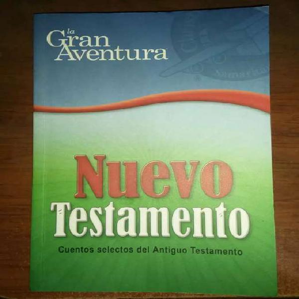 """Libro """"nuevo testamento"""" la gran aventura en perfecto estado"""