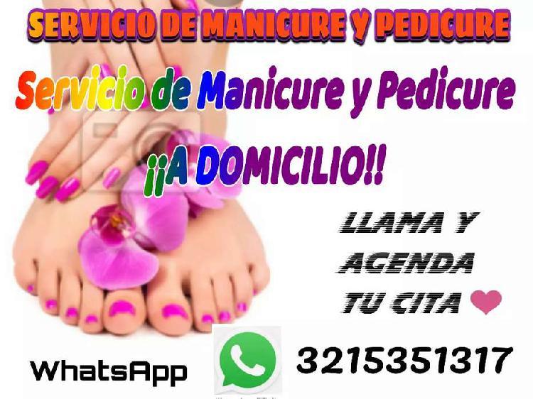 Manicure y pedicure a domicilio en la ciudad de popayán