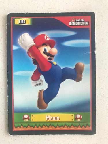 Nintendo new super mario bros wii 94 tarjetas con caja origi