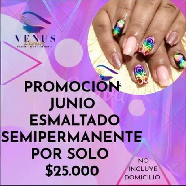 Promoción junio manicure