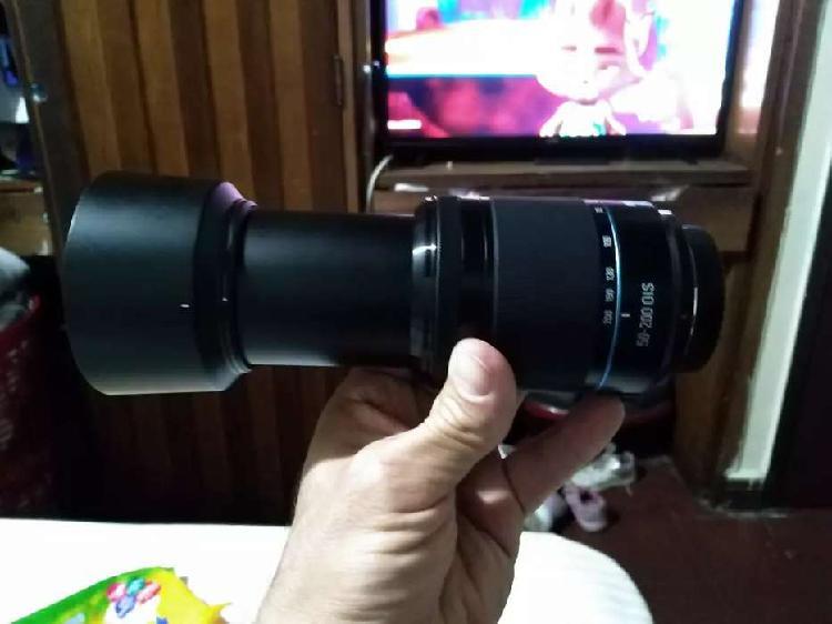 Samsung lente zoom 50-200 mm nuevo