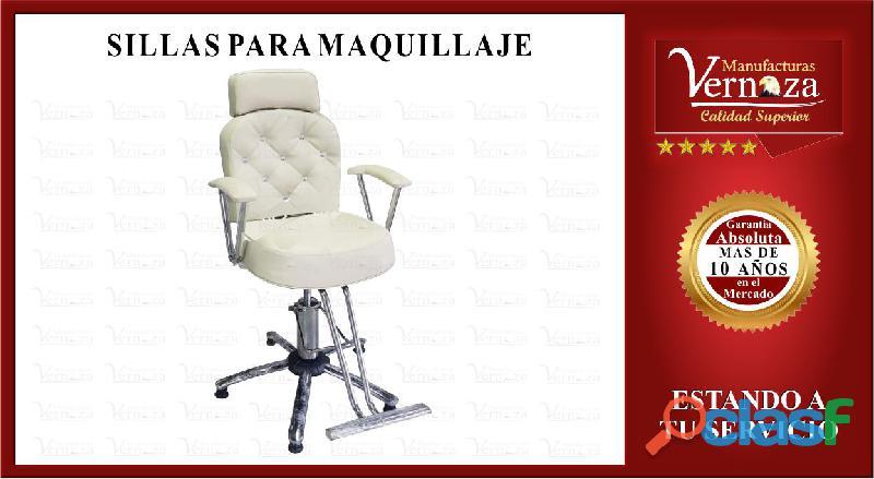 0007  silla para maquillaje y arreglo de cejas color que prefieras